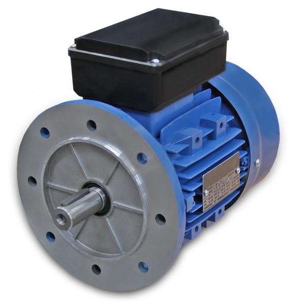 0,37 kW - 3000 U/min - B5 Einphasen-Wechselstrommotor