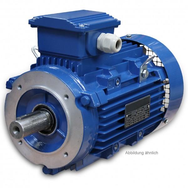 1,5 kW - 1000 U/min - B14 Drehstrom-Norm-Motor